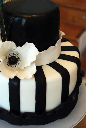 Flickriver Photoset Black And White Stripes And Ruffles Wedding