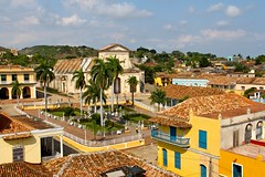 Rooftops in Trinidad (Mike Nitsopoulos Photography) Tags: sky rooftops cuba palmtrees trinidad mikenits