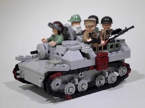 T-20 armored tractor Komsomolets