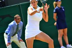Ana Ivanovic vs. Julia Georges (30 June 2012) (London Tennis Photography - Kelvin Lee) Tags: grass nikon tennis bbc championships wimbledon georges sw19 3100 grandslam ivanovic
