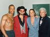 MC Hammer with Juan Juanita and Pete
