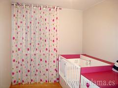 cortinas habitacion juvenil chica