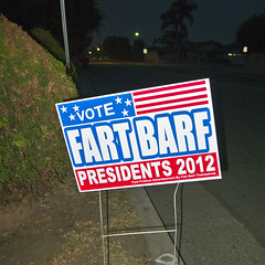 VOTE (TRUE 2 DEATH) Tags: barf fart vote presidents fartbarf