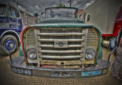 Oldtimer DAF truck