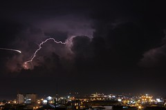 (DBessolo) Tags: colombia lightning rayo risaralda pereira relampago