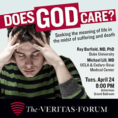 UCLA (The Veritas Forum) Tags: debate dialogue apologetics veritasforum bigquestions lifeshardestquestions