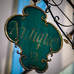 Antiques 13 Sign (Mabry Campbell) Tags: old sign copenhagen denmark photography march photo europe capitol photograph danish antiques 100 ornate f28 2012 200mm capitolcity ef200mmf28liiusm storefrontsign sec mabrycampbell march62012 201203065582