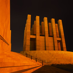 Acropolis (akira ASKR) Tags: longexposure night vent fuji hasselblad okinawa  ventilator naha provia provia100f distagon carlzeiss  hasselblad500cm   rdpiii  distagoncf50mmfle