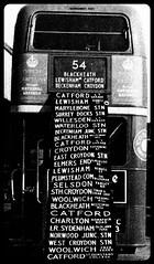 London transport RT displaying blinds. (Ledlon89) Tags: bus london transport destination lt catford londonbus aecregent rtbus routeblinds