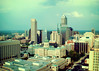 Downtown Indy From Above (SOMETHiNG MONUMENTAL) Tags: city sky skyline architecture buildings nikon downtown indianapolis indiana d60 somethingmonumental mandycrandell