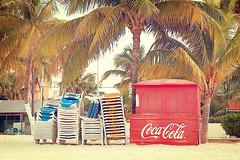 Mexican Coca-Cola (mjcollins photography) Tags: beach mexico coke tropical caribbean cocacola islamujeres
