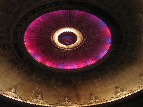The Illuminated Main Dome of the Palais Theatre – Lower Esplanade, St Kilda