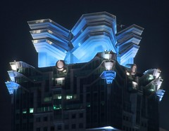 Shanghai - United Plaza (cnmark) Tags: china plaza light building architecture modern night skyscraper geotagged noche shanghai nacht united noite   grattacielo nuit gebude notte nachtaufnahme wolkenkratzer rascacielo gratteciel  arranhacu  allrightsreserved nanjingwestroad  tongrenroad  geo:lat=31223093944994506 geo:lon=12144083014529417