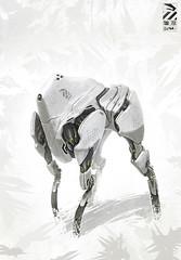 Mech Dog Study (D-132) Tags: dog robot duster mecha mech 132 d132