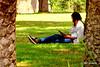 Letture (gilmolm) Tags: park woman roma green girl grass geotagged book libro villa prato ragazza readings letture villatorlonia canonpowershotsx110is