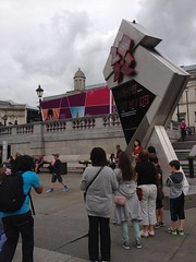 countdown clock trafalgar square London 2012 Olympics day 11 7th August 2012 11:41.12am (dennoir) Tags: london clock square day trafalgar august 11 olympics countdown 7th 2012 114112am