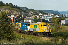 RS 61 @ Port-Alfred (Mathieu Tremblay) Tags: railroad rio port bauxite line short alfred local rs saguenay chemin alcan aluminium fer tinto jonquire roberval arvida intrt