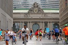 "Fifth Annual ""Summer Streets"" New York City (NYCNYC) Tags: nyc manhattan biking grandcentralterminal summerstreets"