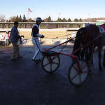 111 - race 7 - A J Cress w/ Mark Headworth in the winner's circle thumbnail