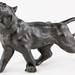 142. Bronze Tone Lioness after Bayre