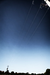 IMG_6394_23.jpg (Koukouvaya*) Tags: blue vacation sky holiday skyline rural spain village power space cyan cable line pylon espana lamppost powerline treeline powergrid torrecaballeros vaughantown