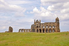 6848 (benbobjr) Tags: uk england cliff heritage church abbey lady religious ruins christ unitedkingdom yorkshire religion north ruin dracula christian east henry monastery northumbria whitby christianity benedictine henryviii northyorkshire hilda whitbyabbey listedbuilding caedmon anglosaxon englishheritage gradei eastcliff monasteries bramstoker kinghenry dissolution benedictineabbey synod dissolutionofthemonasteries gradeilistedbuilding cholmley oswy streoneshalh kingofnorthumbria ladyhilda streonshal oswiu synodofwhitby whitbymansion cholmleys