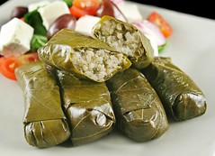 Dolmades 1 (thecocktailchef) Tags: vegetables cheese dinner lunch greek salad yummy flavor rice natural herbs main tomatoes wrapped tasty fresh gourmet delicious lettuce parcels meal ingredients vegetarian olives dining appetizer sliced diet cooked delectable culinary turkish wholesome feta freshness garnish lowfat healthyeating dolmas dolmades vineleaves restaurantfood nutritional lowcalorie nourishing flavorsome