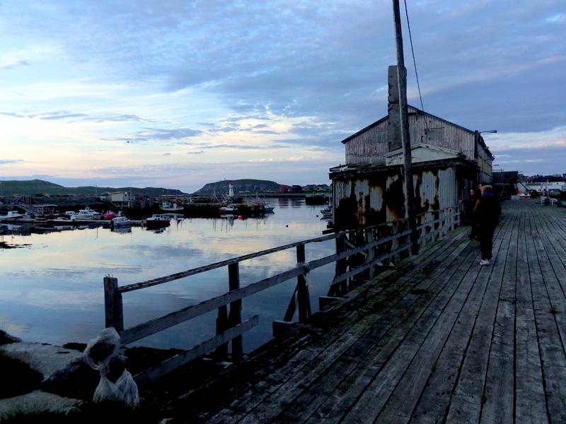 VARDO. Extreme north Norway. 12PM.