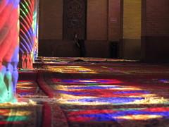 Winter Prayer Hall Masjed Nasir-al-Molk Mosque Shiraz Iran (hn.) Tags: copyright window persian asia asien heiconeumeyer iran fenster muslim