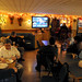 Supporters await election returns at Bisso campaign headquarters at Merons Restaurant in Plattsburgh. Photo: Mark Kurtz