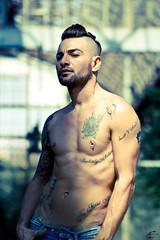 Model: Stefano (TonIO Campagna) Tags: man industry model photobook uomo modello