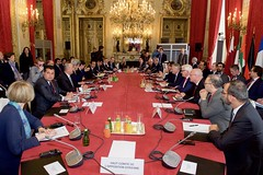 Secretary Kerry Participates in a Multilateral Meeting About Syria in Paris (U.S. Department of State) Tags: uk italy paris france turkey germany unitedkingdom uae eu jordan syria johnkerry saudiarabia unitedarabemirates europeanunion qatar