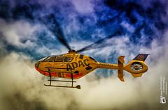 news from the roof....... today #ADAC ...  #Christoph23 (Tubus112) Tags: canon outdoor himmel paramedic rettungsdienst gkm krankenhaus koblenz adac frhling hubschrauber ec135 notarzt rth 2016 notfall rettungshubschrauber luftrettung christoph23 kteinsatzfotografie daskleinefotostudio dhxac