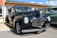 Dodge Business Coup 1940 (Monde-Auto) Tags: auto france automobile noir business dodge courtenay coup rassemblement