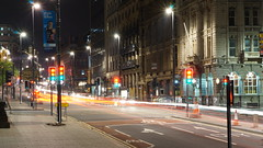 Photo of The Headrow - Leeds at night