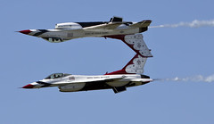 2016 Air power over Hampton Roads Langley Air Show Virginia Thunderbirds (watts_photos) Tags: show airplane virginia power air over jet airshow f16 roads thunderbirds hampton usaf langley airpower hamptonroads 2016 upsiedown f16c lafb