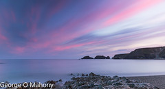 Garruas Beach 3 (George O Mahony) Tags: sea seascape ocean water seaside longexposurehoyafilters canon coast beach sky cloud shore waterford coppercoast ireland waterfordcameraclub colour color rocks