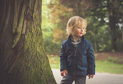 Toddler in the woods (megantighe41) Tags: park portrait childhood outside scotland spring woods toddler child forrest outdoor balloch lochlomond childphotography childportrait 50mmlens primelens boytoddler toddlerportrait ballochcountrypark toddlerboy nikond7100