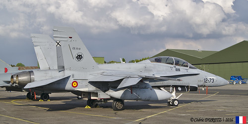 McDonnell Douglas EF-18 B Hornet / Spain Air Force / 12-73