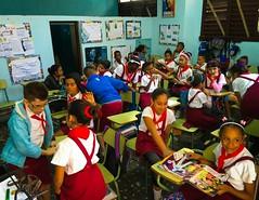 Havana. Cuba (H.L.Tam) Tags: school students children havana cuba documentary sketchbook cuban schooluniform iphone redscarf habanavieja photodocumentary iphone6s harbana cubasketchbook