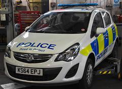 KS64EPJ (Cobalt271) Tags: proud police northumbria vehicle to 13 protect vauxhall corsa livery npt cdti ks64epj