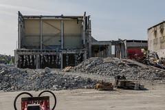 Concrete curtain (AstridWestvang) Tags: building industry telemark skien