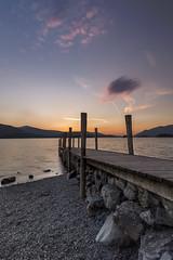 Ashness Jetty - Sunset '16 (mattwalkerncl) Tags: uk light england colour canon landscape eos lakedistrict lee derwentwater fullframe manfrotto 6d ashnessjetty