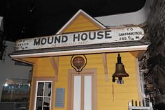 Mound House, Nevada -  2016 (tonopah06) Tags: railroad station sign nevada railway rr nv trainstation depot passenger vt carsoncity southernpacific 2016 moundhouse virginiatruckee nevadastatemuseum virginiaandtruckee carsonandcolorado