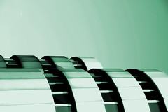 Green lantern (Mastahkid) Tags: windows sky building berlin green lines facade germany deutschland fenster himmel minimal grn messe icc gebude fassade linien mastahkid ontourwithkleingeislein
