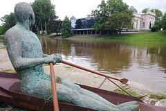 Boverie (Lige 2016) (LiveFromLiege) Tags: statue belgium belgique liege luik mady meuse lige wallonie rameur lieja lttich aviron andrien liegi madyandrien