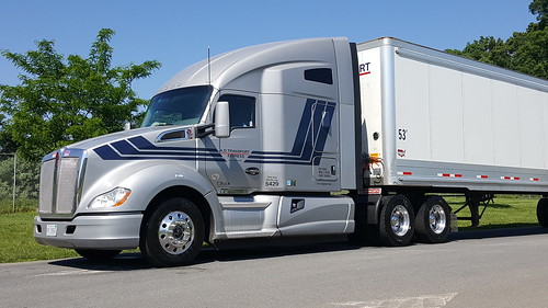 My A D Transport Express  truck and trailer in Winchester,  VA
