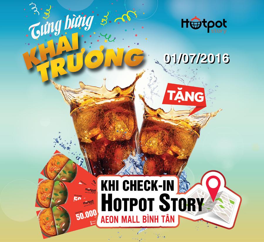 Khai trương Hotpot Story AEON MALL Bình Tân