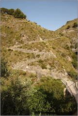 Up The Zig-Zag Path (Mabacam) Tags: mountain mountains nature walking landscape outdoors countryside spain view hiking path country andalucia trail moorish vista 2016 zigzagpath sayalonga canillasdealbaida