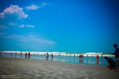 IMG_9500 (IamMinhaj) Tags: sea sky beach nature water landscape sand tour bangladesh bayofbengal coxsbazar topattractions longestbeachintheworld